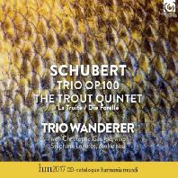 TRIO OP.100 & TROUT QUINTET/ TRIO WANDERER [슈베르트: 트리오 & 피아노 오중주 <송어> - 반더러 트리오]